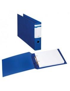 Raccoglitore STELVIO F A4 40 2D blu 30x22cm Album SEI ROTA