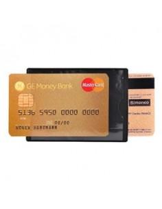 HIDENTITY® Duo 85x60mm per bancomat /carta di credito NERO Exacompta