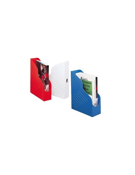 Cartelle archivio box Nature Future® SCOTTEN Exacompta - 2,5 cm - rosso - 50705E (conf.10)