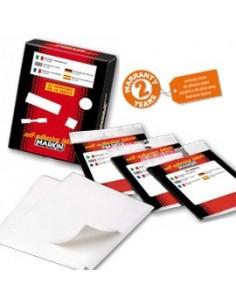 Portaetichette adesivi Durable - 2x7,5 cm - 8072-19 (conf.10)