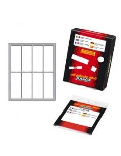 Cartellina con clip in metallo Favorit - 3 mm - rosso - 100500024 (conf.10)