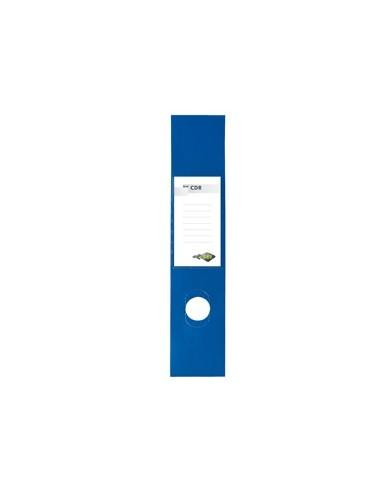 Busta 10 copridorso CDR PVC adesivi blu 7x34