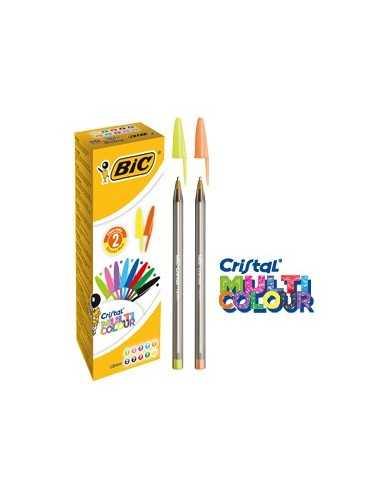 Scatola 20 penna sfera CRISTAL® MULTICOLOR 1