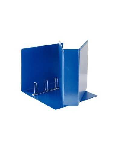 Raccoglitore DISPLAY MAXI 22x30cm 4Q H65mm blu personalizzabile ESSELTE