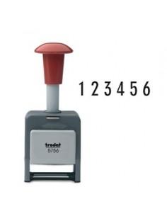 Timbro NUMERATORE 5756/P automatico 6 colonne 5