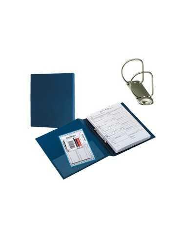 Raccoglitore SANREMO 2000 40 C 2D blu 22x30cm SEI ROTA