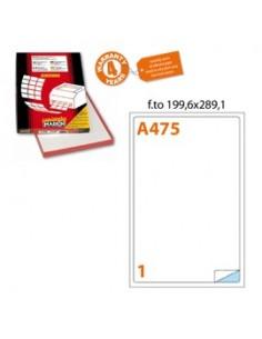 Busta con bottone Ice Rexel - Semplice - A5 - trasparente - 2101658 (conf.5)