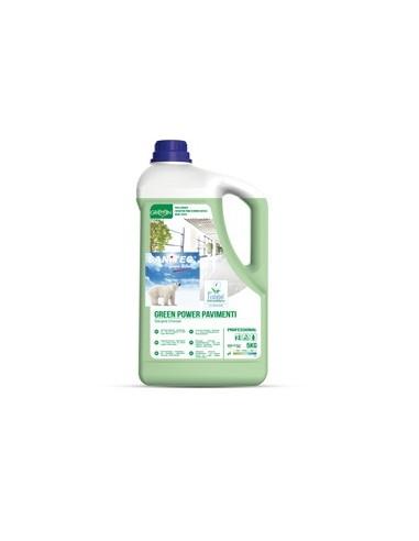 Detergente Pavimenti tanica 5Lt Green Power Sanitec