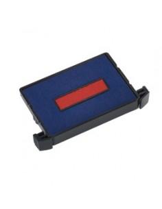 Blister da 3 tamponi 6/4750-2 rosso-blu Trodat