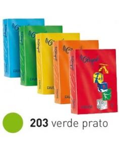 Carta LECIRQUE A4 80gr 500fg verde prato 203 FAVINI