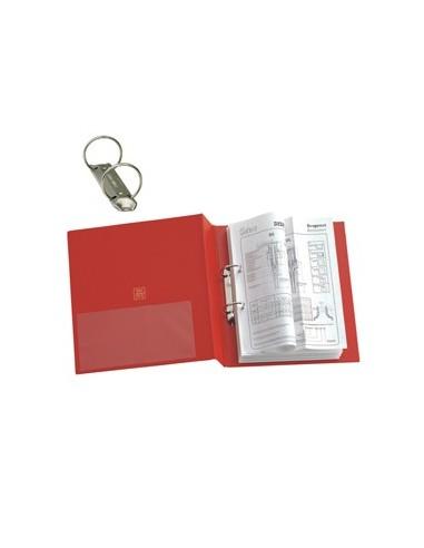 Raccoglitore STELVIO 25 A5 2R rosso 15x21cm SEI ROTA