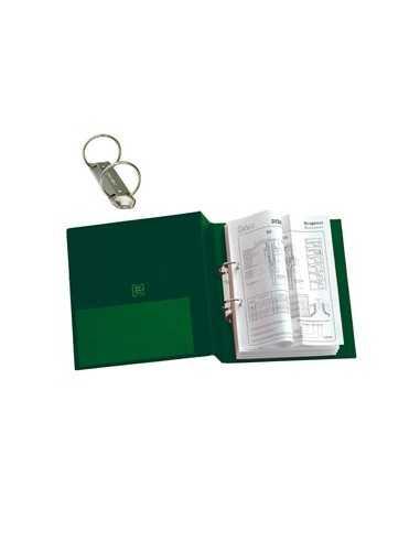Raccoglitore STELVIO 25 A4 2R verde 22x30cm SEI ROTA