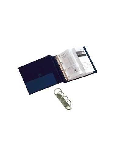 Raccoglitore STELVIO 25 A4 4R blu 22x30cm SEI ROTA