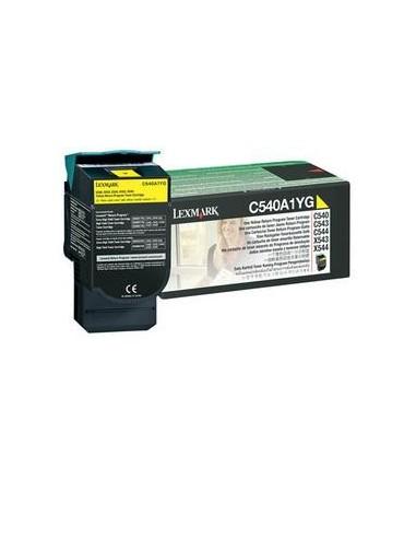 TONER RETURN PROGRAM GIALLO C540 C543 C544 X543 CAPACITA' STANDARD