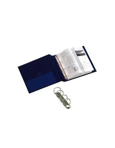 Raccoglitore STELVIO 40 A4 4R blu 22x30cm SEI ROTA