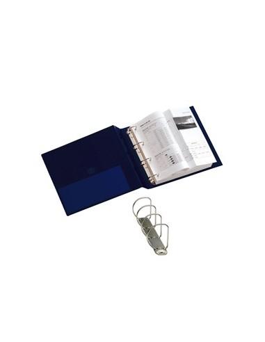 Raccoglitore STELVIO 40 A4 4D blu 22x30cm SEI ROTA