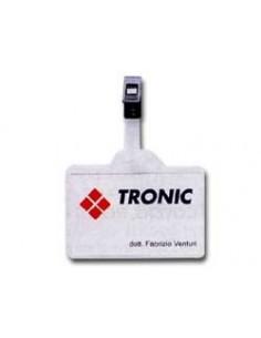 Portabiglietti da visita Matrix Favorit in ppl - grigio - 12x20 cm - 400101766