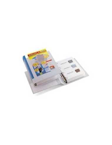 Raccoglitore STELVIO TI 13 A4 4R 22x30cm bianco personalizzabile SEI ROTA