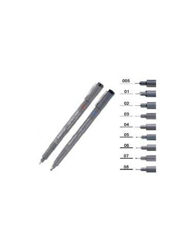 Pennarello Pigment Liner 308 nero 0