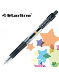 PENNA SFERA SCATTO INK GEL NERO 0.7MM Fine STARLINE