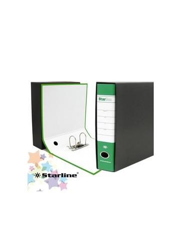 Registratore STARBOX f.to protocollo dorso 8cm verde STARLINE