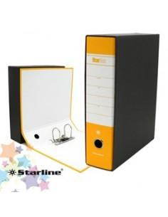Registratore STARBOX f.to protocollo dorso 8cm giallo STARLINE