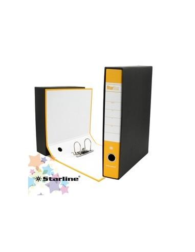 Registratore STARBOX f.to protocollo dorso 5cm giallo STARLINE/sfuso