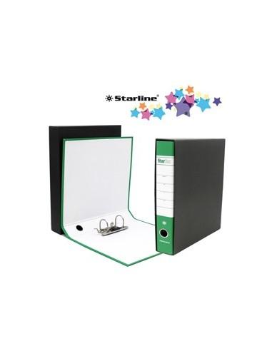 Registratore STARBOX f.to commerciale dorso 5cm verde STARLINE