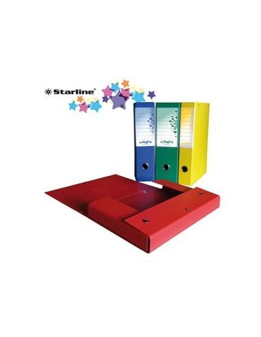 SCATOLA PROGETTO KingPro 8 BLU c/portaetichetta STARLINE