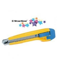 Cutter 18mm con bloccalama Premium Starline
