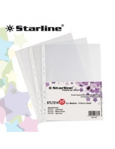 50 BUSTE FORATE 22X30 BUCCIA Medium Starline