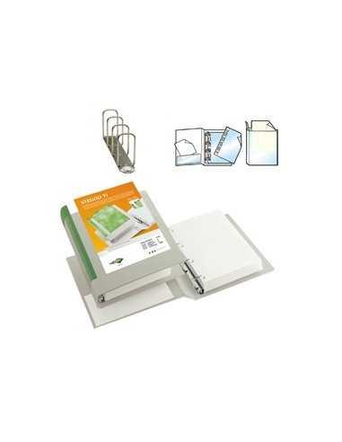 Raccoglitore STELVIO TI 65 A4 4Q 22x30cm bianco personalizzabile SEI ROTA