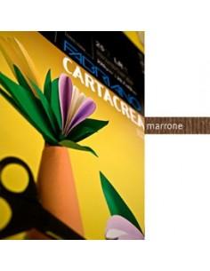 Blister 10fg cartoncino 35x50cm 220gr marrone Cartacrea Fabriano