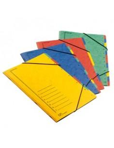 Buste trasparenti Atla FT Sei Rota - F.to A4 - 8 scomparti (10x15 cm) - 662511 (conf.10)