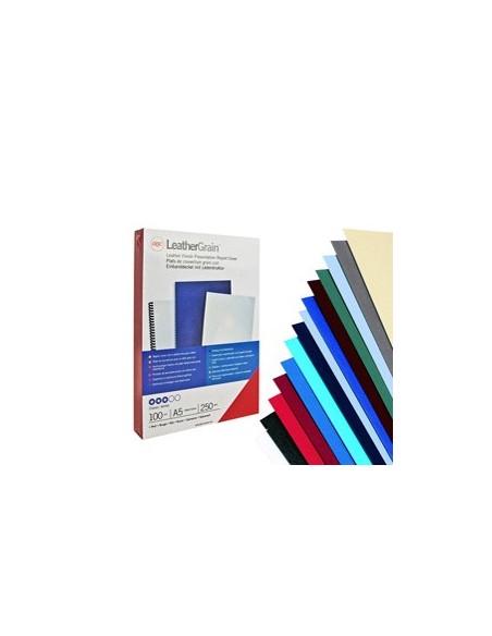 Raccoglitori Prestige Esselte - 40 mm - 24.5x30 cm - blu - 390552050