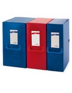 Cartelline Eco Pigna - 3 lembi - con stampa - 180 g/mq - azzurro - 0221801AZ (conf.50)