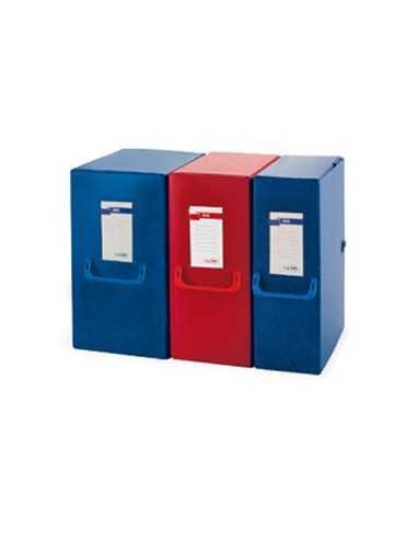 Scatola archivio Big 160 250x350mm blu c/maniglia Sei Rota