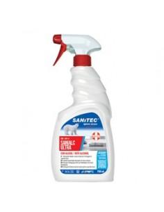 SANIALC Ultra 750ml detergente alcolico per superfici e tessuti Sanitec