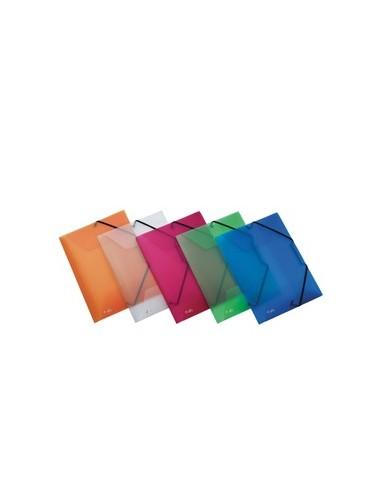 Cartella 3L C/elastico trasparente LUMINA 22X30 D0-3 Favorit