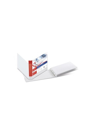 Raccoglitore STELVIO TI 40 4D A3 42x30cm album bianco personalizzabile SEI ROTA