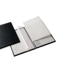 Registratori Delsoline Esselte - Protocollo - f.to utile 23x33 cm 8 cm - bianco/grigio - 390715060