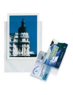 Buste a foratura universale Copy Safe Esselte - Deluxe 22x30 cm goffrata - 392597600 (conf.25)
