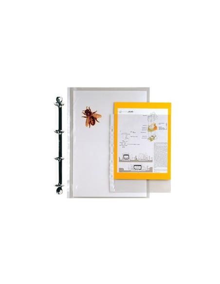 Buste a foratura universale Copy Safe Esselte - Deluxe 21x29,7 cm - liscia lucida - 395009300 (conf.50)