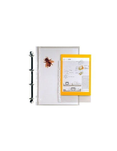 Buste a foratura universale Copy Safe Esselte - Office A4 goffrata - 395075300 (conf.50)