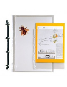 Buste a L Copy Safe Esselte - Deluxe - 22x30 cm - PPL - trasp. antiriflesso - 395084000 (conf.50)