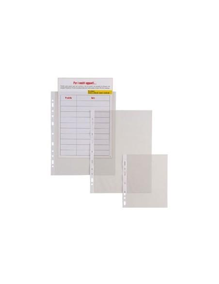 Buste a foratura universale Copy Safe Esselte - Deluxe 22x30 cm liscia - 395697500 (conf.100)