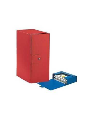 Scatola progetto C35 25x35cm dorso 15 rosso ESSELTE
