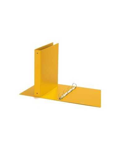 Raccoglitore Europa 4010 22x30mm 4R dorso 30 giallo Favorit
