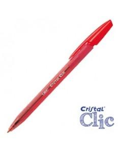 Scatola 20 penna sfera scatto CRISTAL® CLIC medio 1