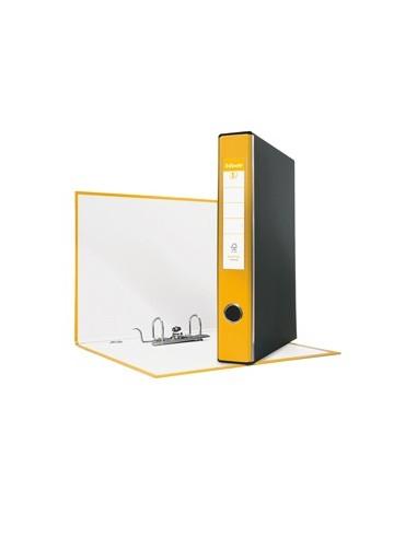 Registratore EUROFILE G54 giallo dorso 5cm f.to protocollo ESSELTE